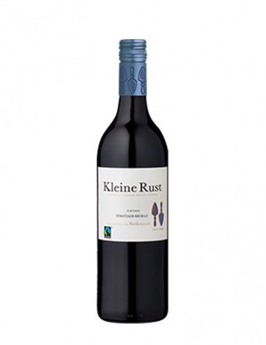 Kleine Rust Pinotage / Shiraz - FAIRTRADE - screw cap - 2019