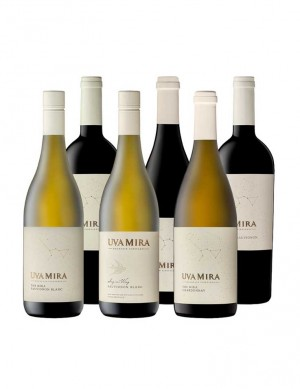 KapWeine - Uva Mira 6er Tasting Set Value 7672