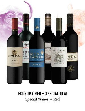 KapWeine - Special Deal - 7742 Economy Special Wine Red Set 2020 -