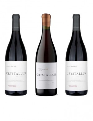 KapWeine - Crystallum Pinot Noir Whole Bunch 2019 - Nur im 3er Set mit 2 Flaschen Peter Max 2018 7980