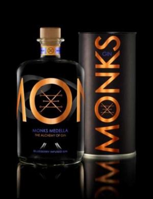 Monks Gin Medella - Heidelbeeren