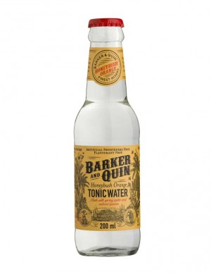 Barker & Quin Honeybush Orange Tonic Water BB April 2022 1X4 Flaschen 9.90 CHF - RESTPOSTEN AKTION 7.90