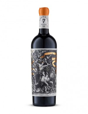 Pinotage - Cape Rebel #7 - Orpheus and the Raven by The Vinoneers - 2019