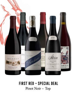 KapWeine - SPECIAL DEAL- 7185 FIRST PINOT NOIR SET 2020
