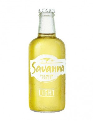 -AA Savanna Dry Apfelcider LIGHT 33cl - 3% Alk.- B.B Juni 2021