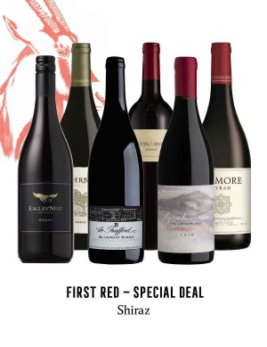 KapWeine - SPECIAL DEAL - 7186 FIRST SHIRAZ SET 2020 -