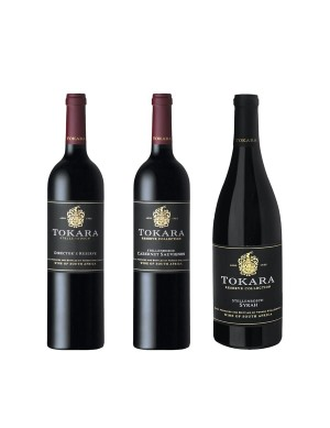 KapWeine - 6828 Tokara 3er Tasting Set Top Red