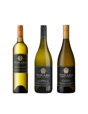 KapWeine -Tokara 3er Tasting Set Top White 6829