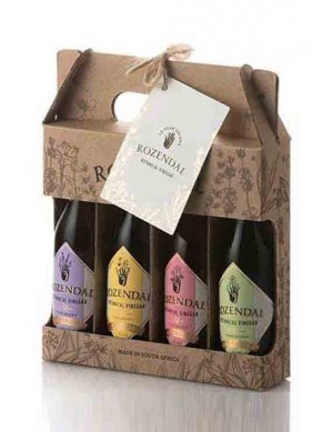 Rozendal Geschenkset |mit allen 4 Botanical Vinegar