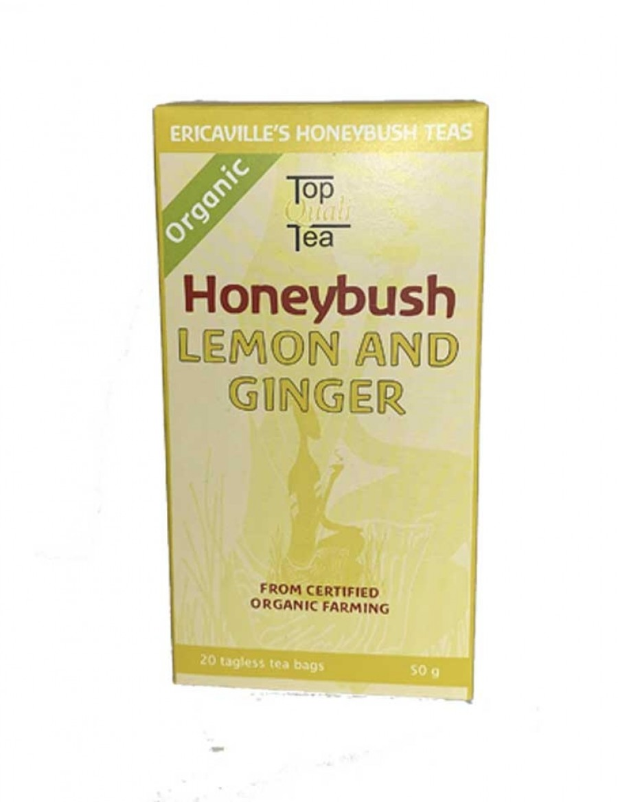Ericaville's Honeybush Tee Lemon and Ginger - 20 Beutel - Best Before Juli 23