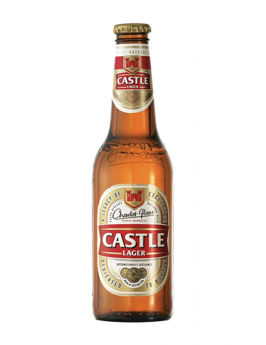 Castle Lager Beer - best before Januar 2019
