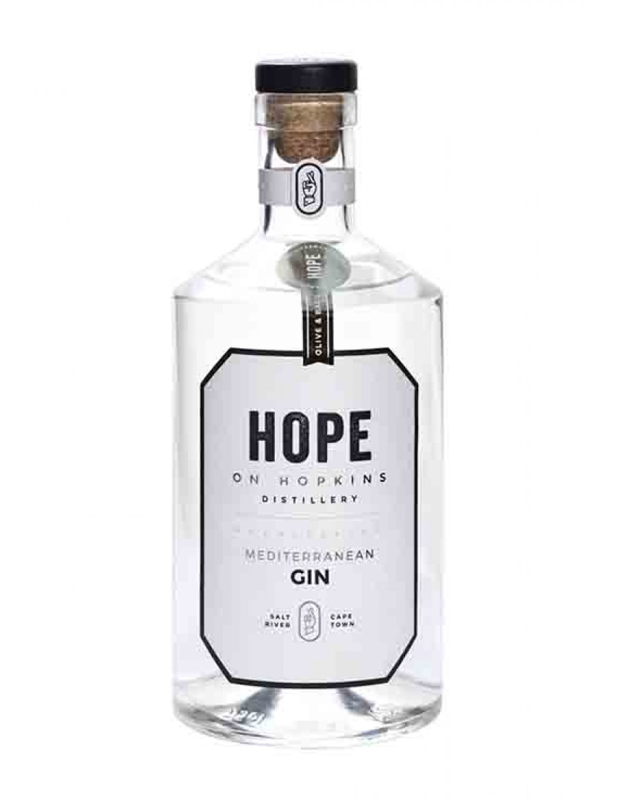 Hope On Hopkins Mediterranean Gin - plus 1 Gratisflasche Fitch & Leedes Grapefruit Tonic Water - plus 1 Gratisflasche Barker & Quin Hibiskus Tonic Water
