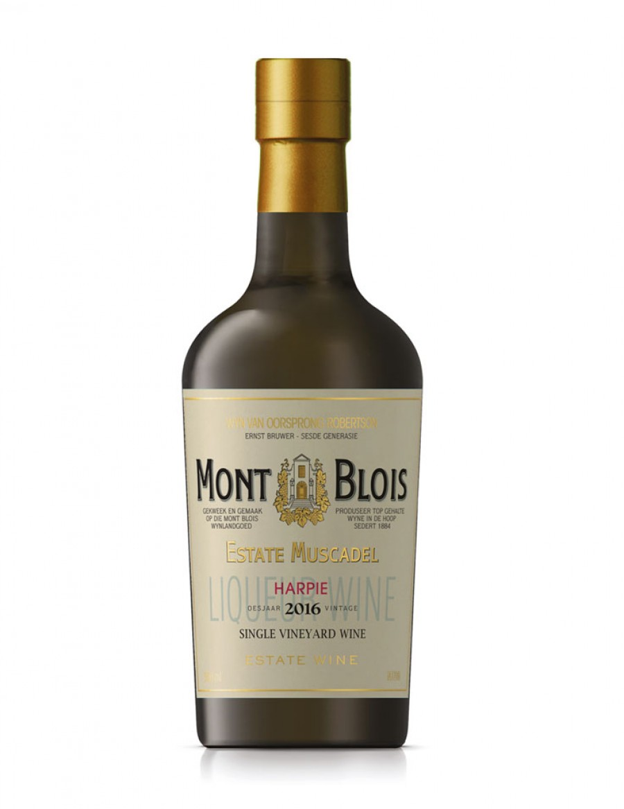 Mont Blois Muscadel Harpie - Süsswein - AUSVERKAUFT - 2016