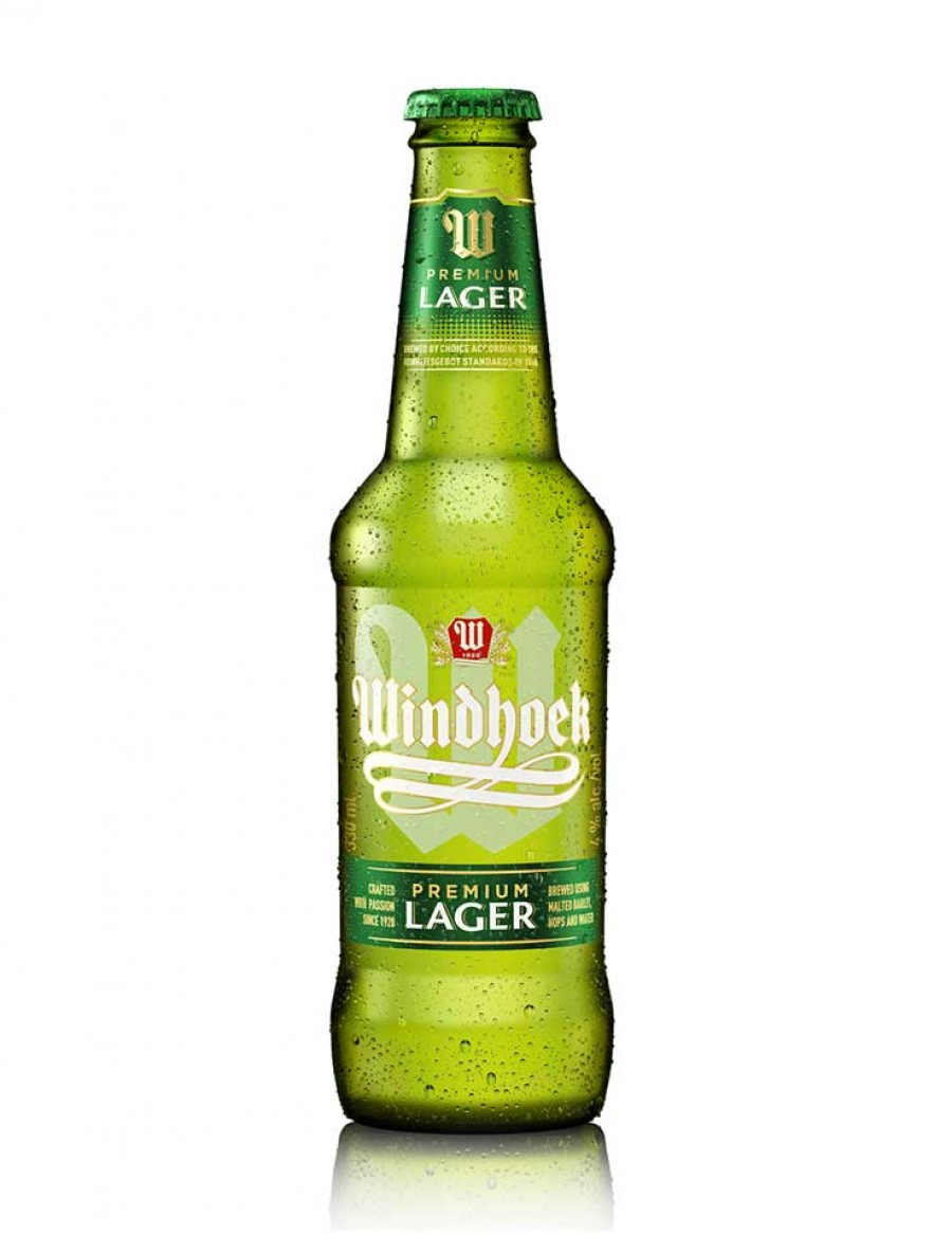 Windhoek Lager Beer - best before MÄRZ 2021