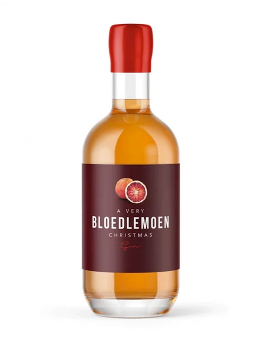 Bloedlemoen Christmas Handcrafted Gin - Limited Edition - plus 1 Gratisflasche Fitch & Leedes Indian Tonic Water - plus 1 Gratisflasche Barker & Quin Honeybush Orange Tonic Water