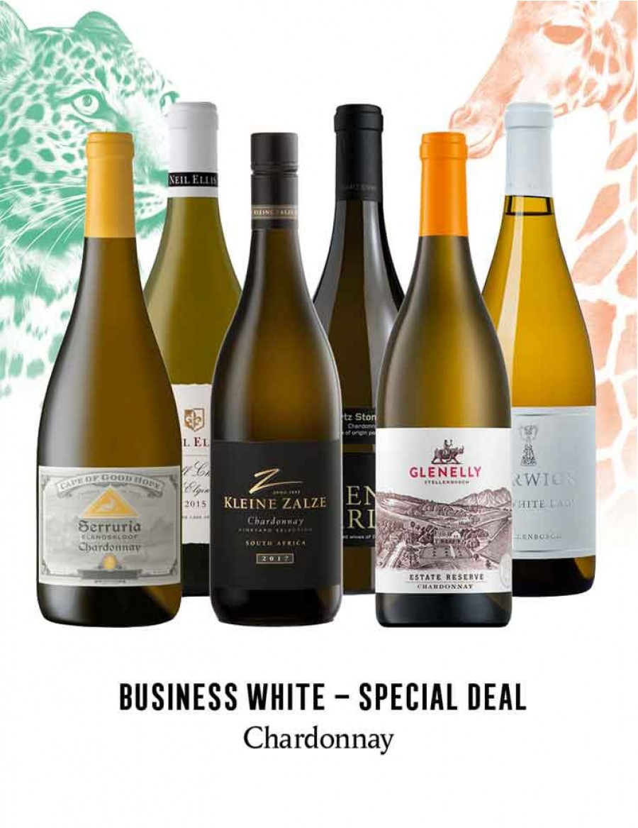 - KapWeine - Special Deal - 7302 BUSINESS CHARDONNAY SET 2020 -