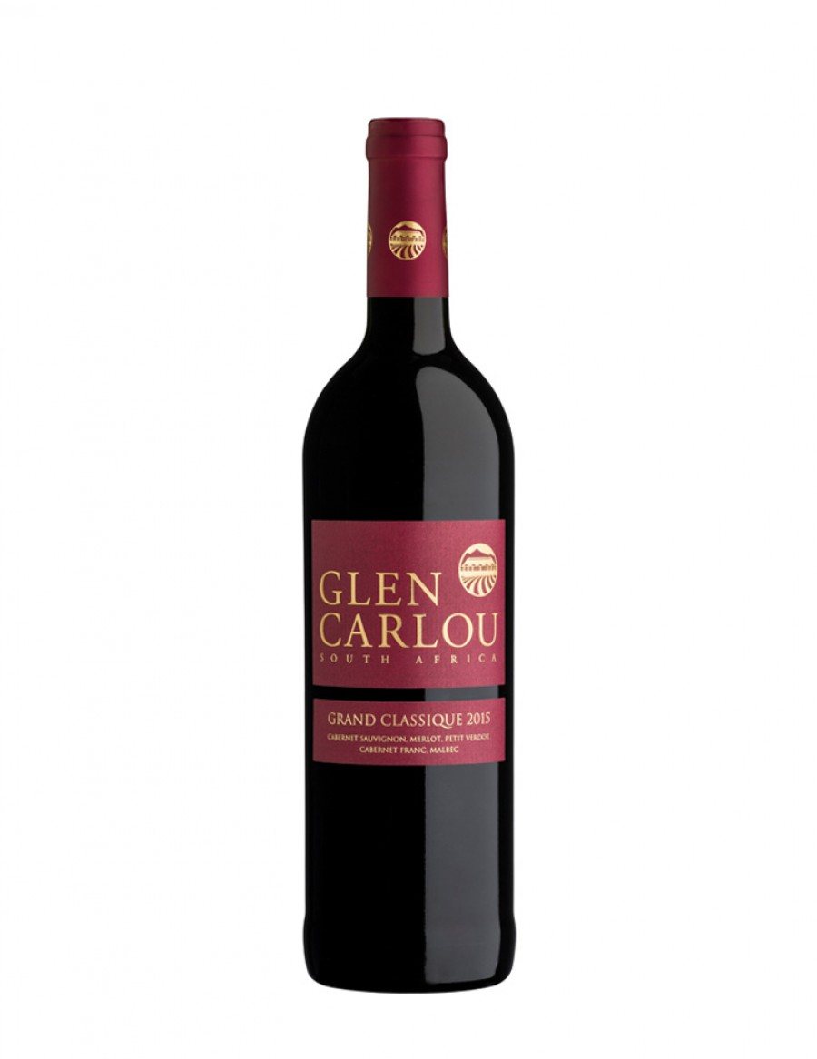 Glen Carlou Grand Classique - unfiltered - Wine of the Year 2020  - 2018