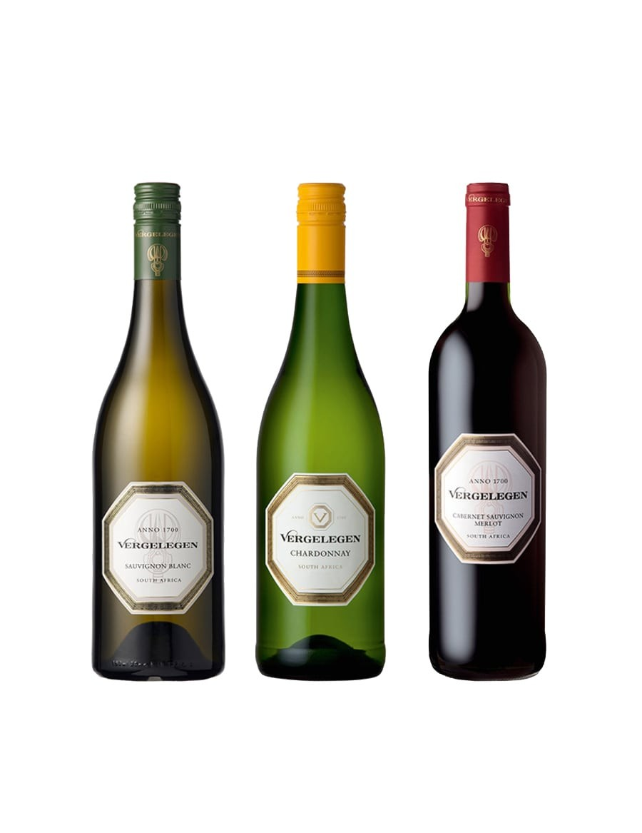 KapWeine - Vergelegen 3er Tasting Set Value 7428 -