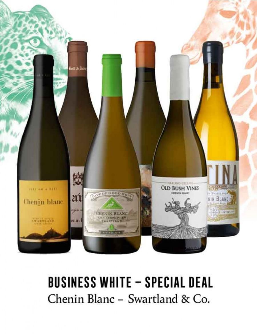 - KapWeine - Special Deal - 7452 BUSINESS CHENIN BLANC SWARTLAND & CO SET 2020 -