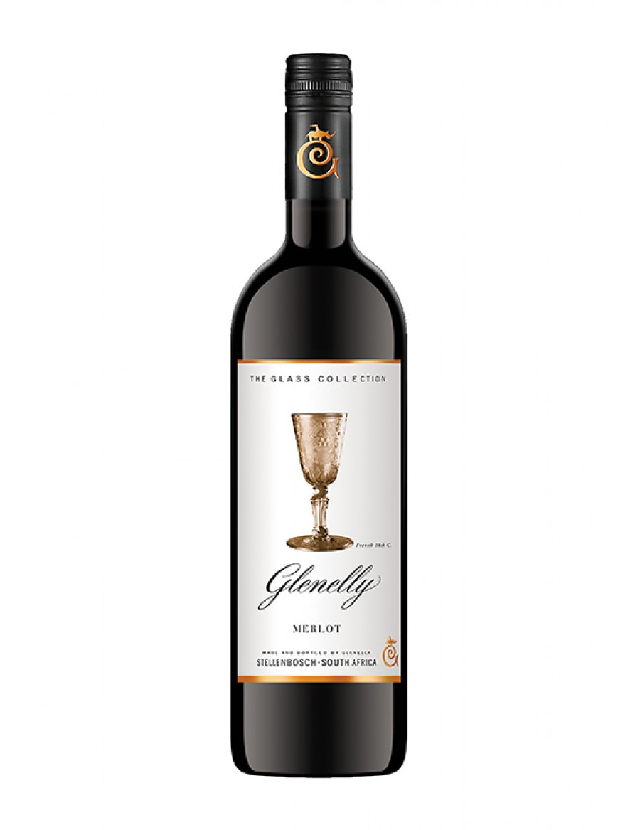 Glenelly Glass Collection Merlot - screw cap - - 2017