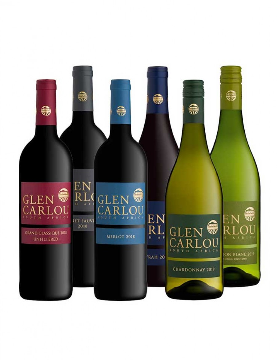 - KapWeine - 7570 Glen Carlou Wine of the Year 6er VALUE Tasting Set