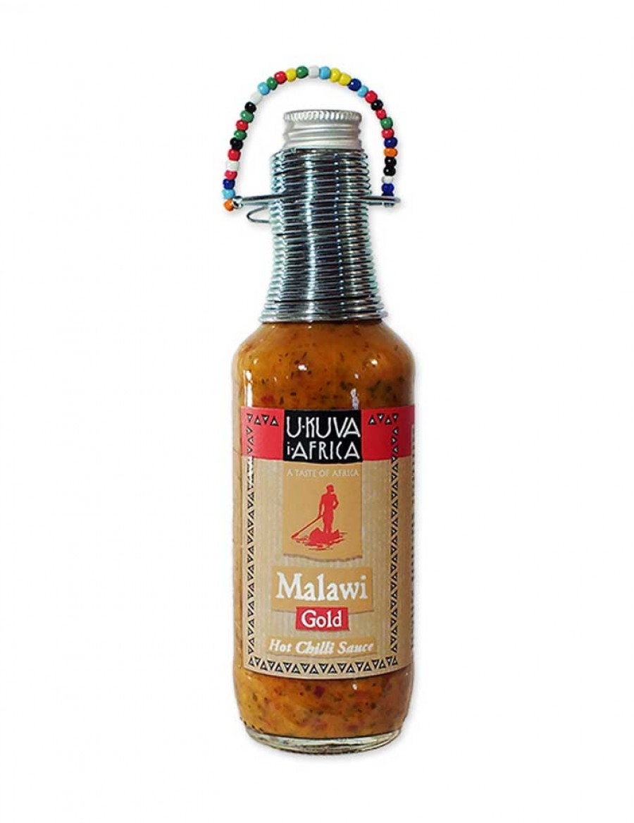 Ukuva Malawi Gold-Sauce 240ml - BB JUNI 2021