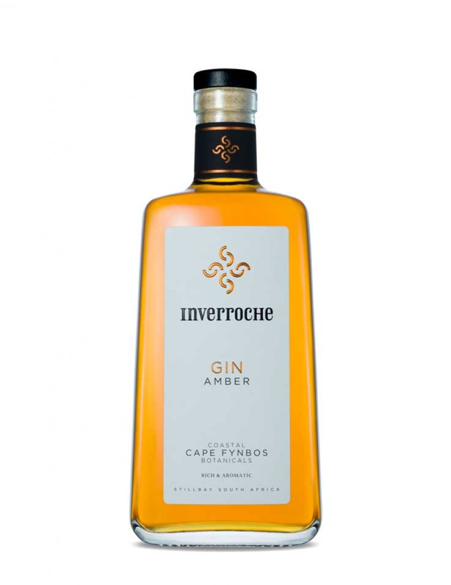 Inverroche Amber Gin - plus 1 Gratisflasche Barker & Quin Honeybush Tonic Water - plus 1 Gratisflasche Fitch & Leedes Indian Tonic Water