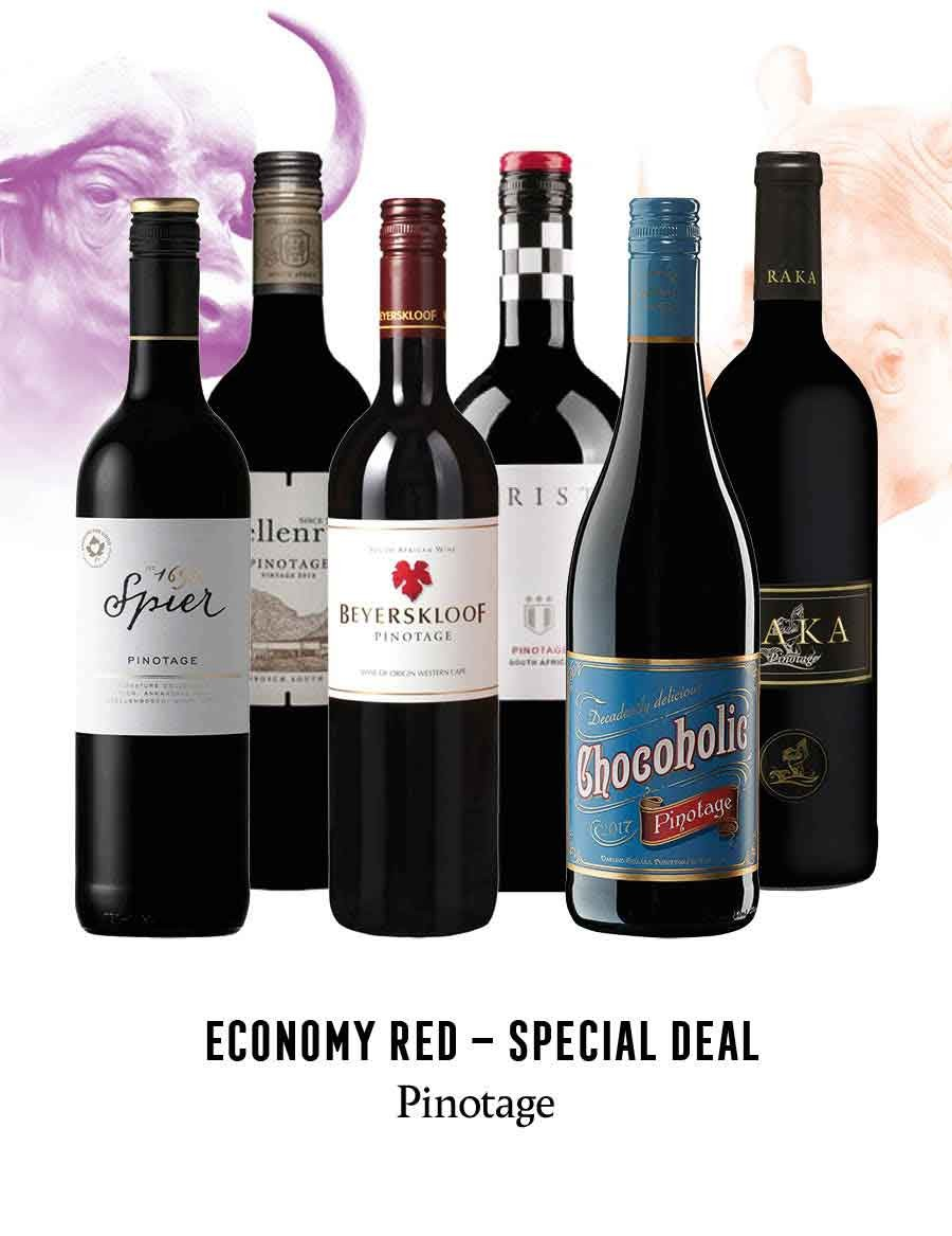 - A KapWeine - Special Deal - 7736 Economy Pinotage Set 2020 -
