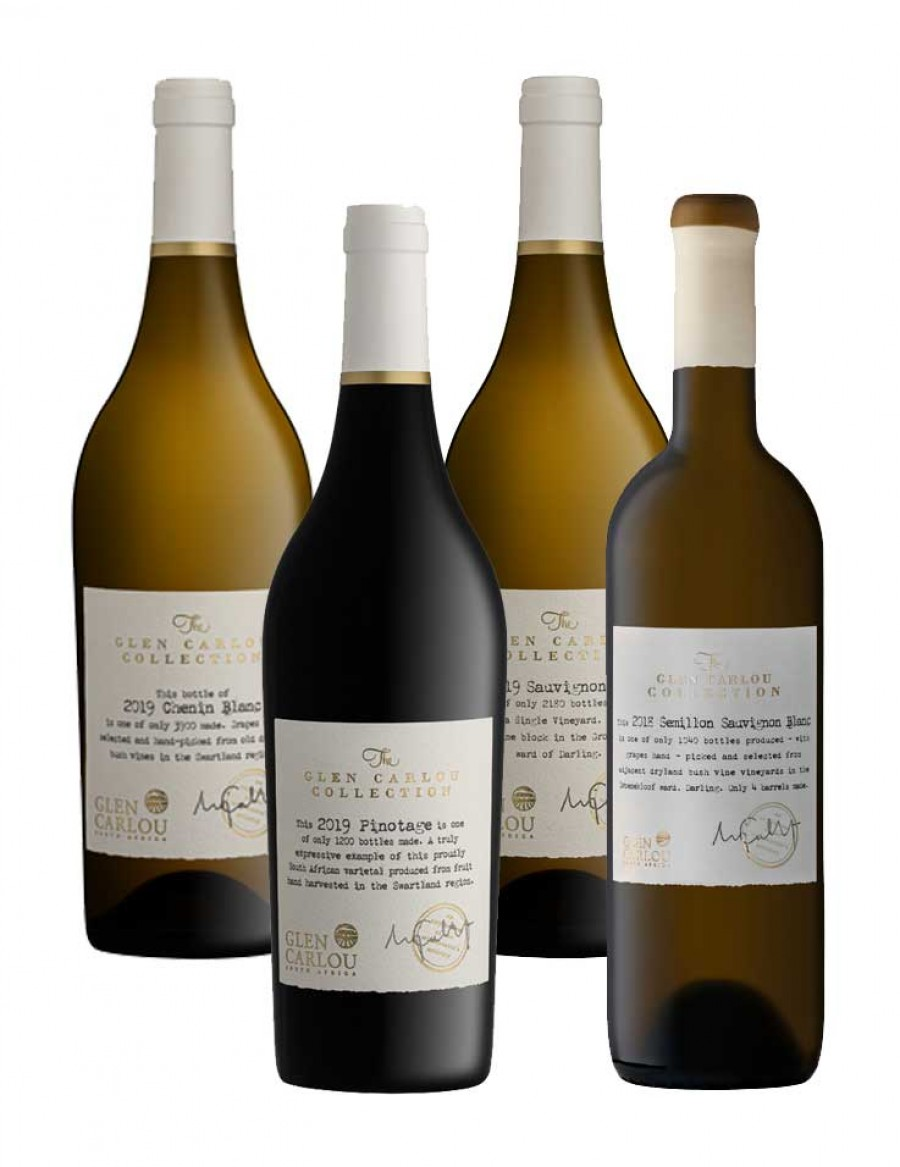 - A KapWeine - 7958 Glen Carlou Wine of the Year 4er COLLECTION Tasting Set