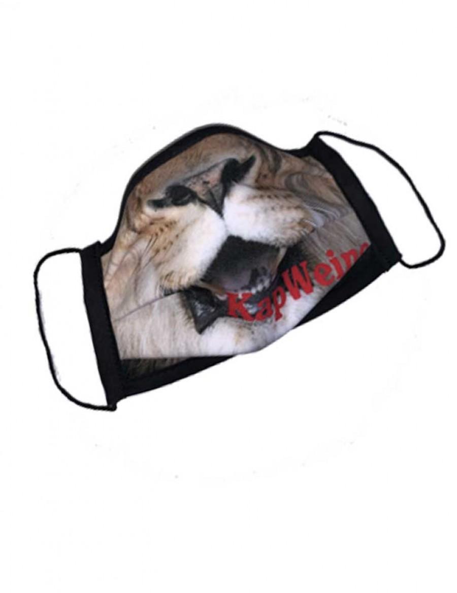KapWeine - Löwen-Mundschutzmaske