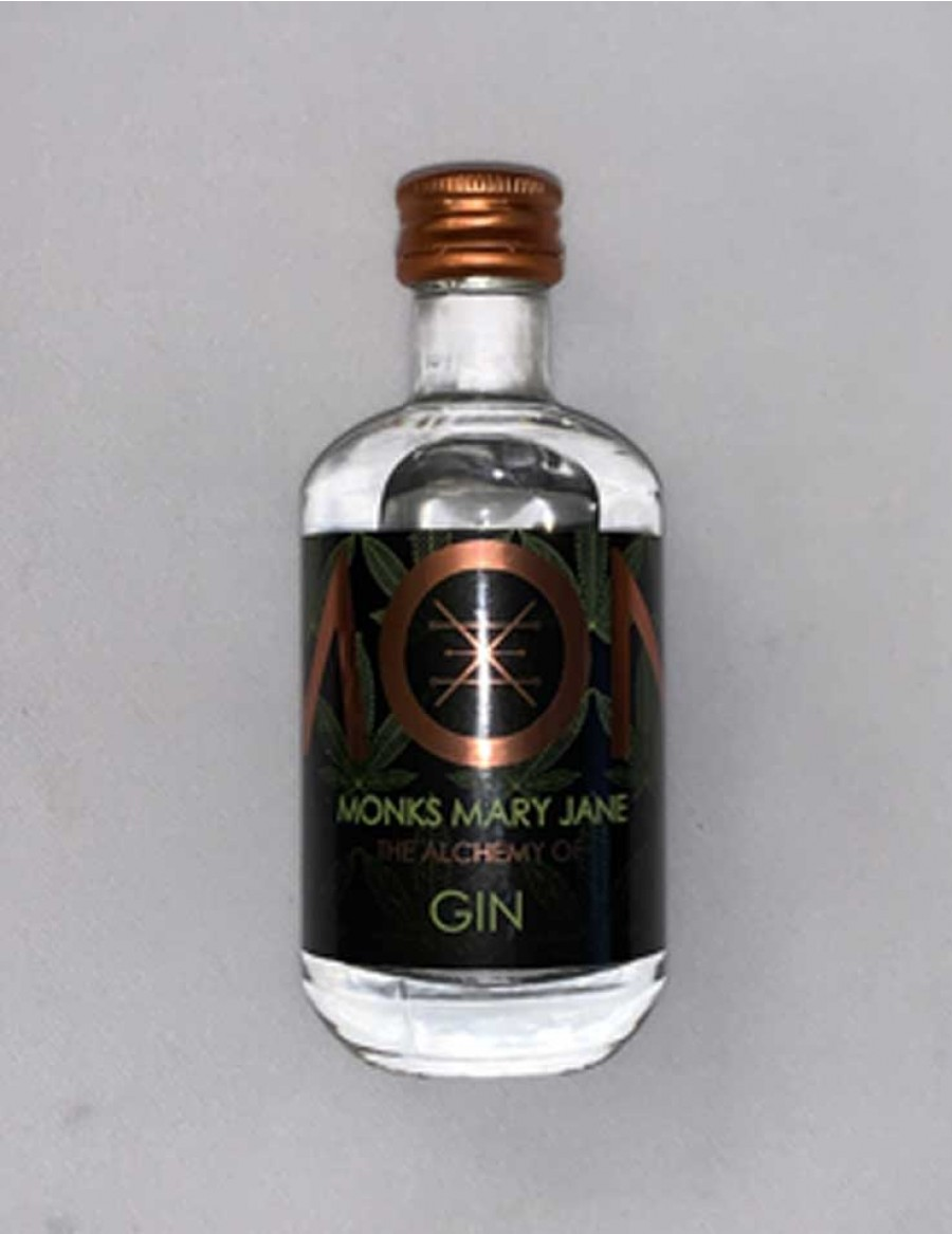 Monks Gin Mary Jane - Hanf - Mini 5cl