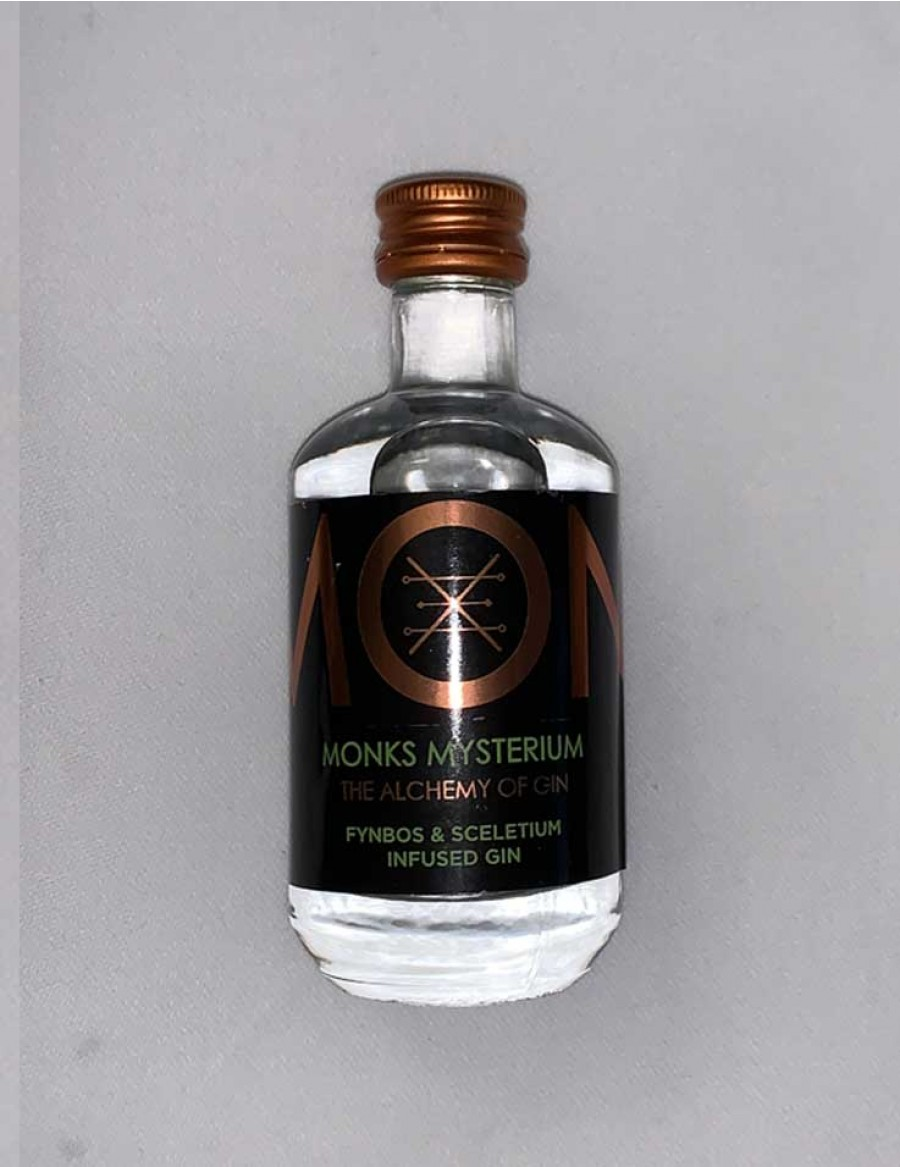 Monks Gin Mysterium - Fynbos - Mini 5cl