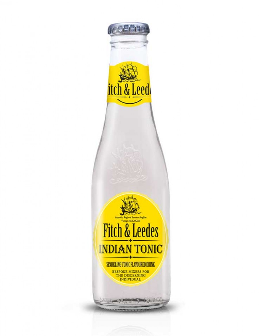 Fitch & Leedes Indian Tonic Water BB Juli 2022 1X4 Flaschen 8.50 CHF - Karton mit 6X4 Flaschen 46.80 CHF