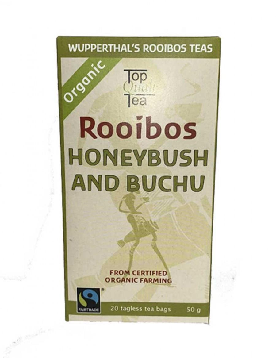 Wupperthal's Rooibos Tea Honeybush and Buchu - 20 Beutel - Best Before Dezember 2023