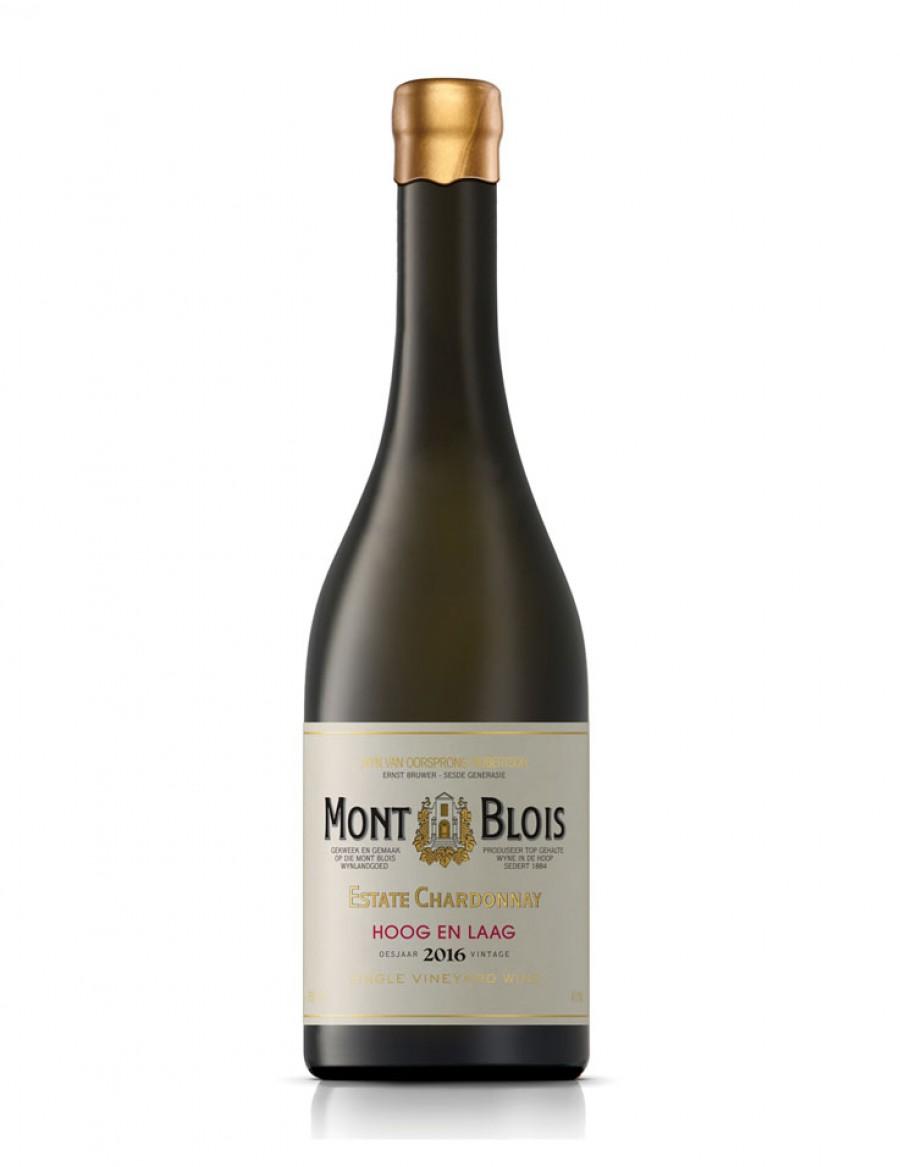 Mont Blois Chardonnay Hoog en Laag  - 2018