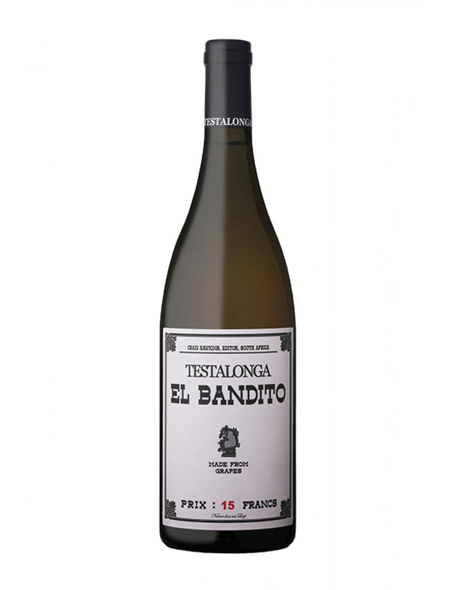 "Testalonga Chenin Blanc ""21 days skin contact"" El Bandito - NATURAL WINE - - 2015"