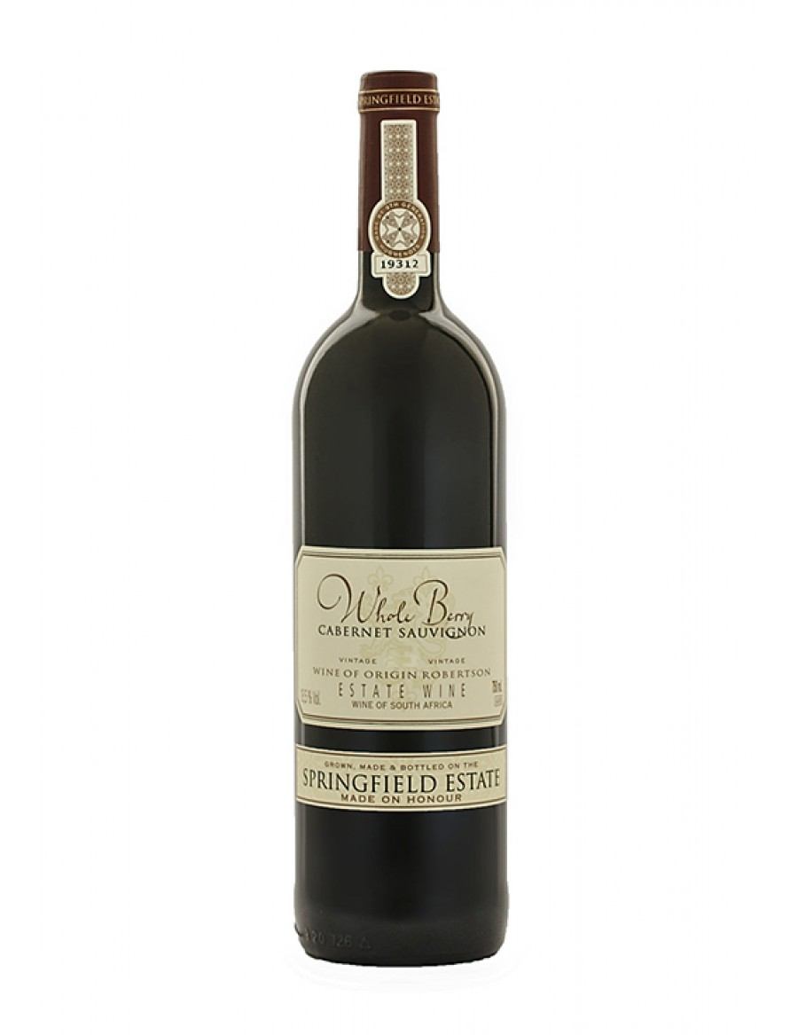 Springfield Whole Berry Cabernet Sauvignon - gereift - 2008