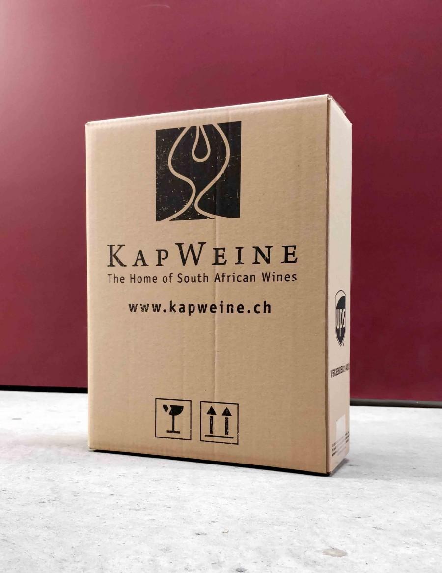 KapWeine Kartonverpackung 3er