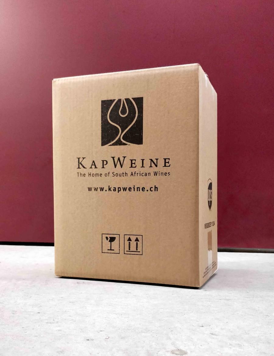 KapWeine Kartonverpackung 6er