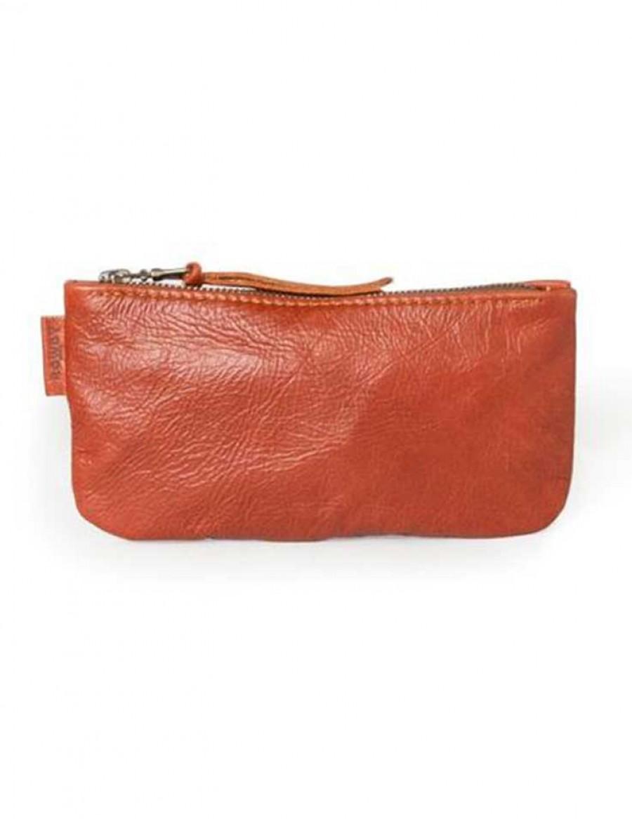 Rowdy Bag Leder Etui - Farbe Copper - Masse 215 X 110 X 15 mm
