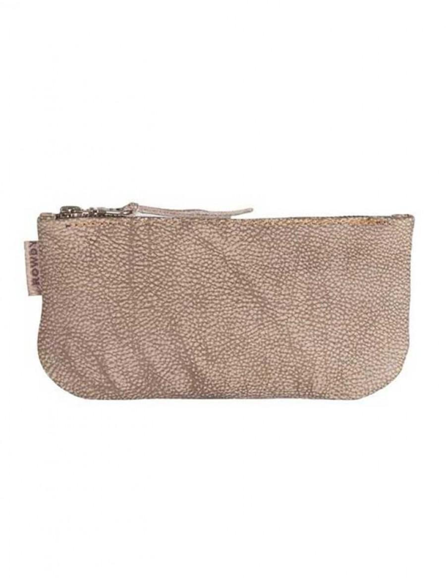 Rowdy Bag Leder Etui - Farbe Boulder - Masse 215 X 110 X 15 mm
