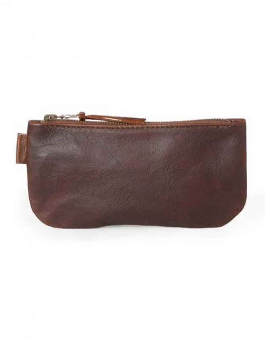 Rowdy Bag Leder Etui - Farbe Maple - Masse 215 X 110 X 15 mm
