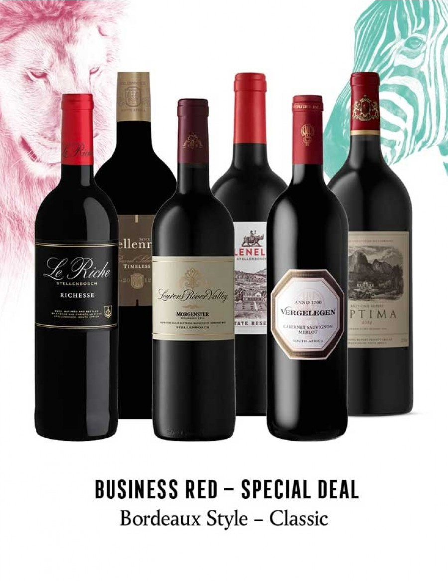 - KapWeine - Special Deal - 7301 BUSINESS BORDEAUX STYLE CLASSIC SET 2020 -