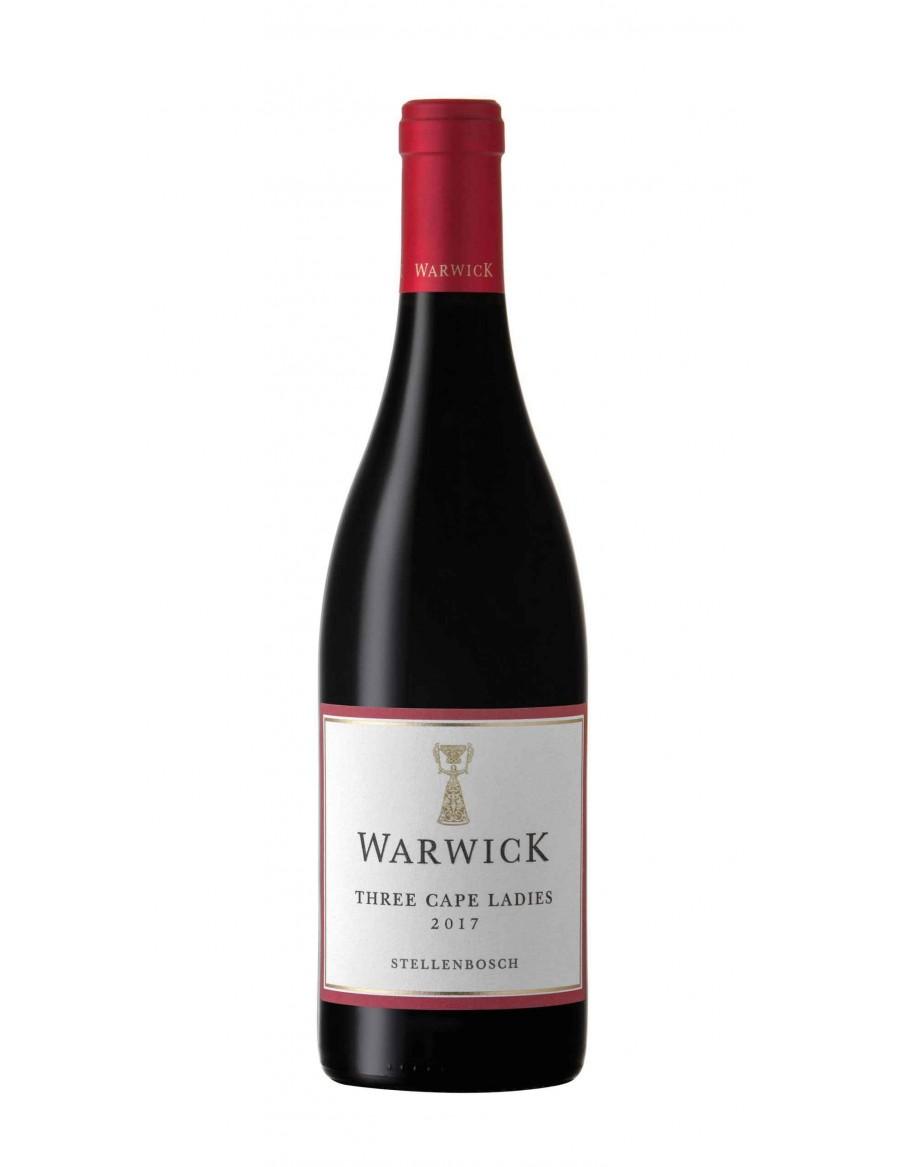 Warwick Three Cape Ladies - NEUES CUVÉE: 66% Cabernet - 22% Pinotage - 12% Merlot - 2017